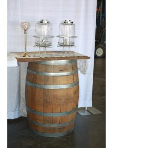 Barrel Table Rental for Parties