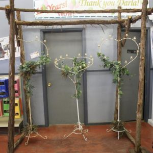 Rustic Arbor for Parties