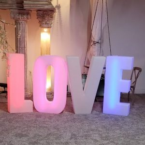 Wedding LOVE Letter Rentals