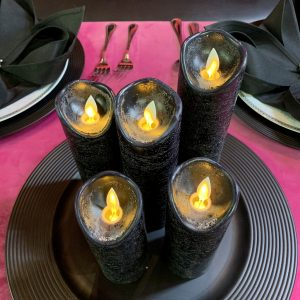 electric-black-candle-texas-rental
